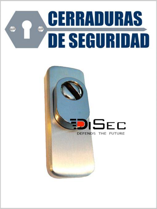 Escudo Protector DISEC LGKBA para cerraduras de perfil estrecho_cerradurasdeseguridad