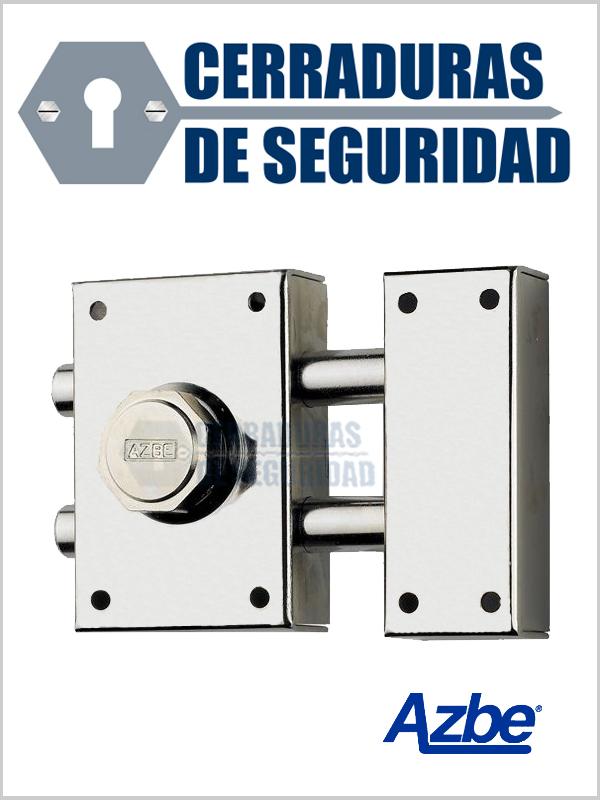 Cerrojo de seguridad para sobreponer azbe modelo 16 - Cerrojo de seguridad para puertas ...