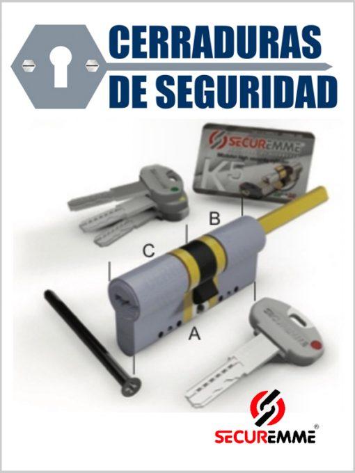 Bombin-Cilindro_SECUREMME_Modelo_K5_cerradurasdeseguridad
