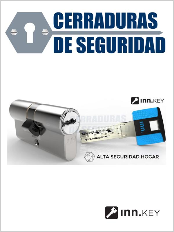Bombin cilindro de alta seguridad inn key smart for Mejor bombin de seguridad
