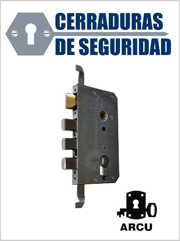 Cerradura marca arcu modelo 511 para bombin perfil suizo - Bombin cerradura puerta blindada ...